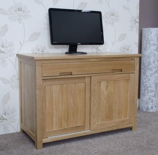 Homestyle GB Opus Oak Hideaway Desk