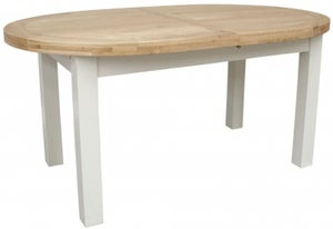 Homestyle GB Painted Deluxe Oval Extending Dining Table