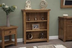 Homestyle GB Rustic Oak Small Bookcase