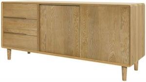 Homestyle GB Scandic Oak Large Cabinet