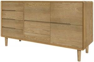 Homestyle GB Scandic Oak Large Sideboard
