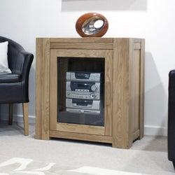 Homestyle GB Trend Oak Hifi Entertainment Cabinet