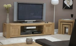 Homestyle GB Trend Oak Large TV Plasma Unit