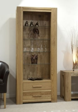 Homestyle GB Trend Oak Tall Bookcase