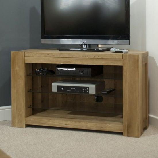 Homestyle GB Trend Oak Corner TV Unit