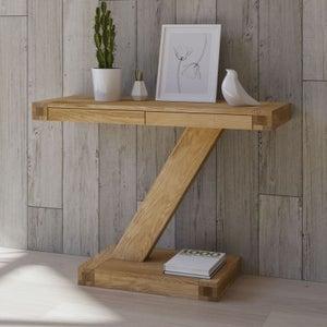 Homestyle GB Z Designer Oak Large Console Table