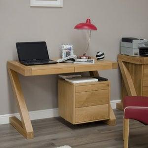 Homestyle GB Z Designer Oak Small Desk