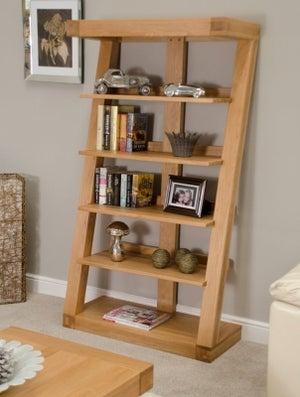 Homestyle GB Z Designer Oak Large Bookcase