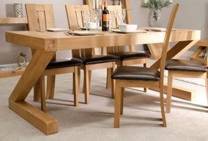 Homestyle GB Z Designer Oak Large Dining Table