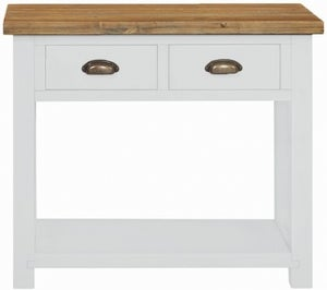 Regatta White Painted 2 Drawer Console Table