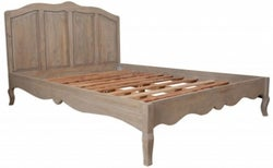 Calais Grey Washed French Style Bed