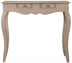 Calais Grey Washed Console Table