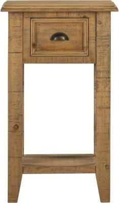 Colorado Distressed 1 Drawer Console Table