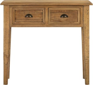 Colorado Distressed 2 Drawer Console Table
