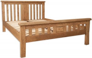 Perth Country Oak Bed
