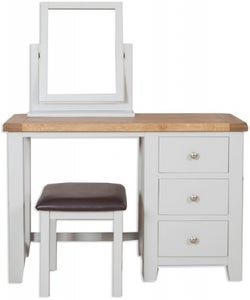 Perth Dressing Set - Oak and French Grey Painted