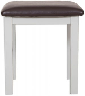 Perth French Grey Painted Dressing Stool