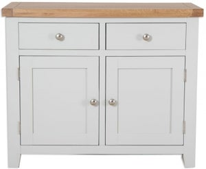 Perth Sideboard - Oak and French Grey Painted