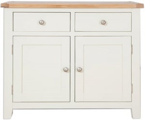 Perth Sideboard - Oak and Ivory Painted