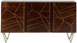 Indian Hub Mango Dark Gold Extra Large Sideboard