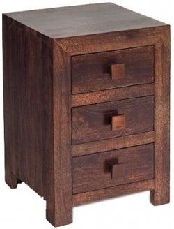 Indian Hub Toko Mango Bedside Cabinet