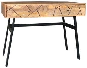 Jaipur Amar Console Table - Mango Wood and Iron