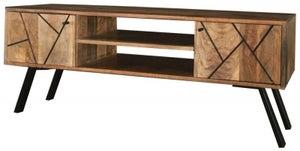 Jaipur Amar Plazma TV Unit - Mango Wood and Iron