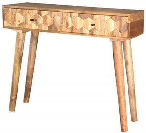 Jaipur Hexagonal Mango Wood Console Table