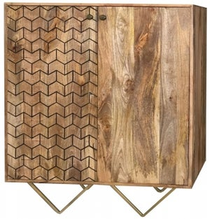 Jaipur Nive Mango Wood Small Sideboard