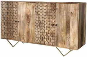 Jaipur Nive Mango Wood Large Sideboard