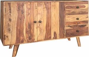 Jaipur Oker Sheesham Wood Medium Sideboard
