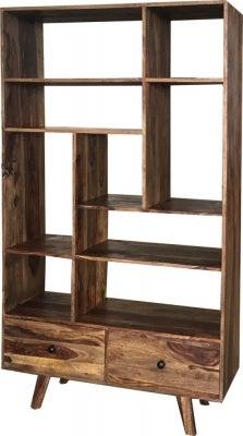 Jaipur Oker Sheesham Wood Bookcase - SA-8252