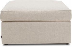 Jay-Be Footstool Airflow Fibre Mattress Bed - Mink Fabric