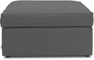 Jay-Be Footstool Airflow Fibre Mattress Bed - Slate Fabric