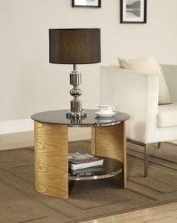 Jual Curve Oak Lamp Table JF303