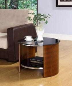 Jual Curve Walnut Lamp Table JF303