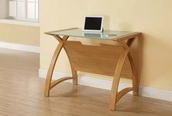 Jual Curve Oak Laptop Table PC201 900LT