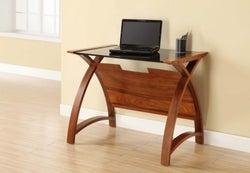 Jual Curve Walnut Laptop Table PC201 900LT