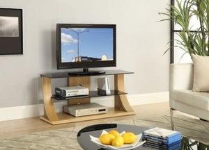 Jual Curve Oak TV Stand JF201 1100