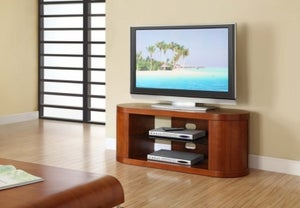 Jual Curve Walnut TV Cabinet JF207