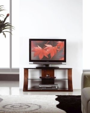 Jual Curve Walnut TV Stand JF201 1100