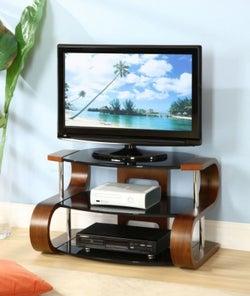 Jual Curve Walnut TV Stand JF203 850