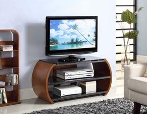Jual Curve Walnut TV Stand JF208