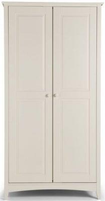 Julian Bowen Cameo White 2 Door Wardrobe