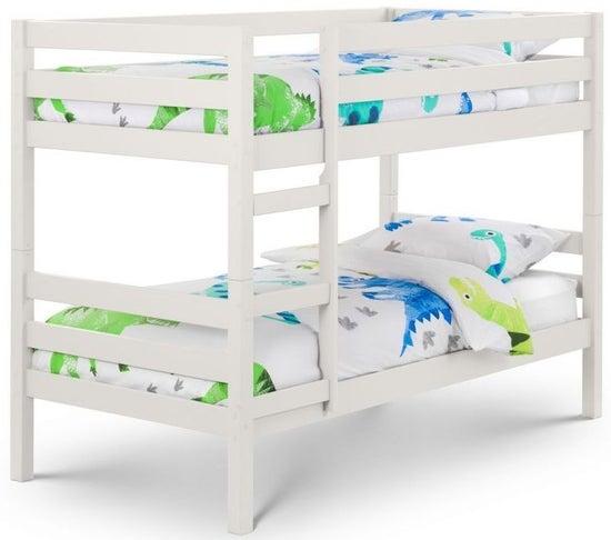 Julian Bowen Camden Surf White Bunk Bed