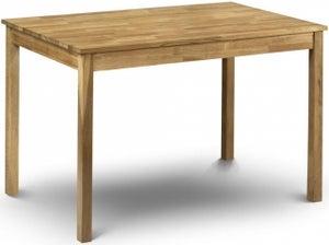 Julian Bowen Coxmoor Oak Dining Table