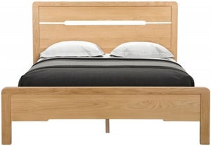 Julian Bowen Curve Oak Bed