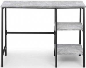 Julian Bowen Staten Concrete Effect Desk