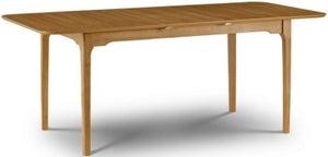 Julian Bowen Ibsen Oak Extending Dining Table
