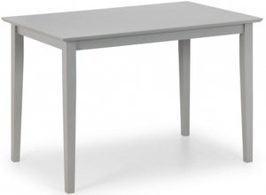 Julian Bowen Kobe Lunar Grey Compact Dining Table